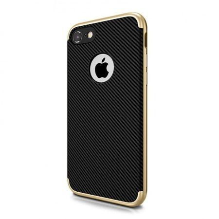 Etui na iPhone 5 / 5s bumper Neo CARBON - złoty.