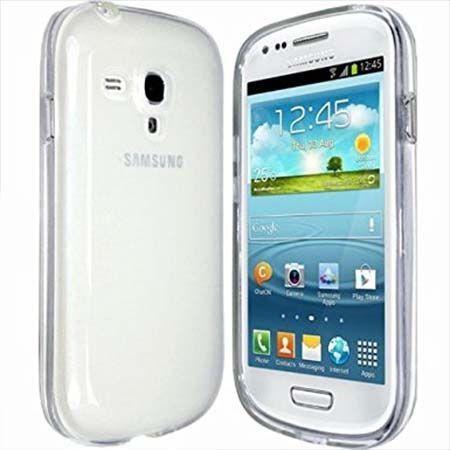 Etui na Samsung Galaxy S3 mini silikonowe crystal case - bezbarwne.