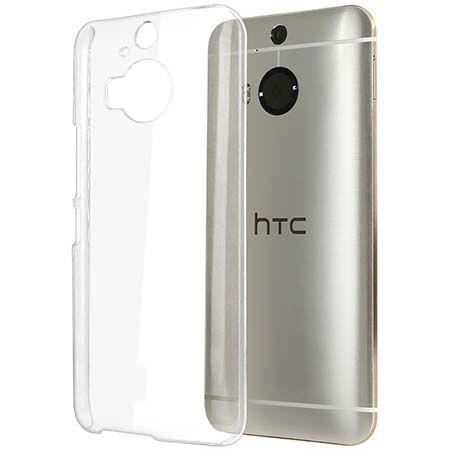 Etui na HTC One M9 silikonowe crystal case - bezbarwne.