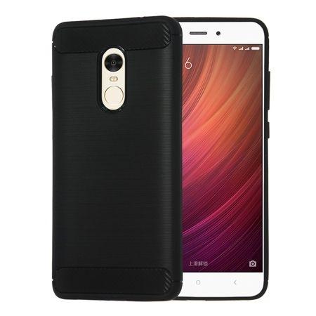 Etui na Xiaomi Redmi Note 4X bumper Neo CARBON - czarny.