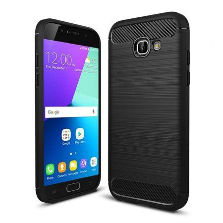 Etui na Galaxy A5 2017 bumper Neo CARBON - czarny.
