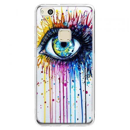 Etui na telefon Huawei P10 Lite - kolorowe oko