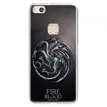 Etui na telefon Huawei P10 Lite - Gra o Tron Targaryen house herb