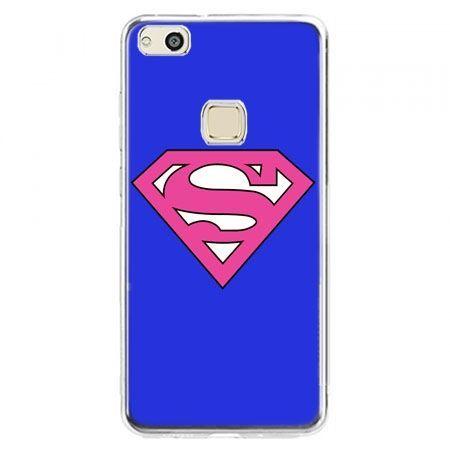 Etui na telefon Huawei P10 Lite - Supergirl