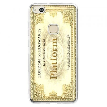 Etui na telefon Huawei P10 Lite - bilet platform 9 3/4 Harry Potter
