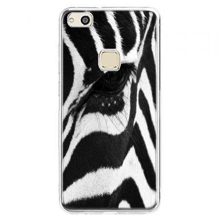 Etui na telefon Huawei P10 Lite - zebra