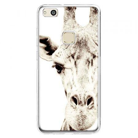 Etui na telefon Huawei P10 Lite - żyrafa
