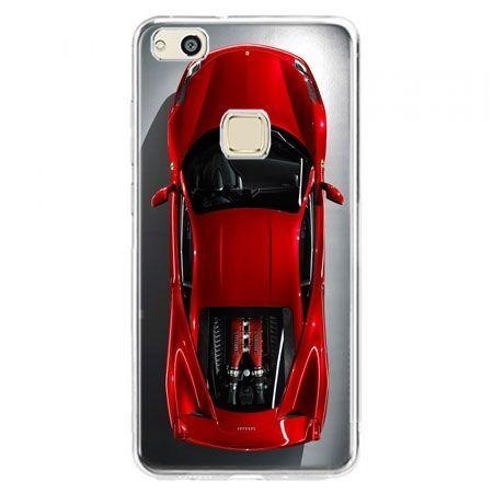 Etui na telefon Huawei P10 Lite - czerwone Ferrari