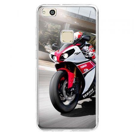 Etui na telefon Huawei P10 Lite - motocykl ścigacz