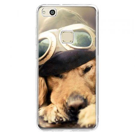 Etui na telefon Huawei P10 Lite - pies w okularach