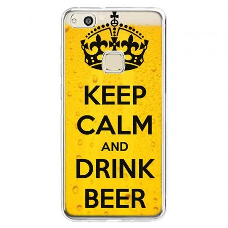 Etui na telefon Huawei P10 Lite - Keep calm and drink beer