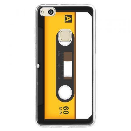 Etui na telefon Huawei P10 Lite - kaseta magnetofonowa