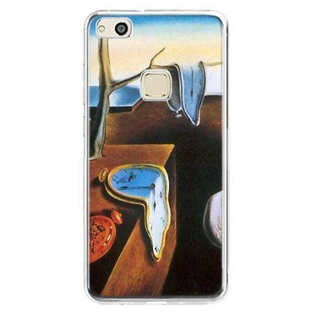 Etui na telefon Huawei P10 Lite - zegary S.Dali
