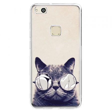 Etui na telefon Huawei P10 Lite - kot w okularach