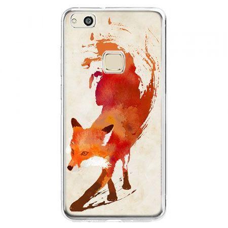 Etui na telefon Huawei P10 Lite - lis watercolor
