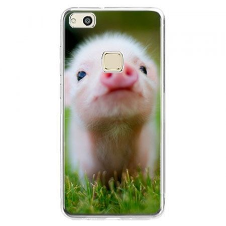 Etui na telefon Huawei P10 Lite - świnka