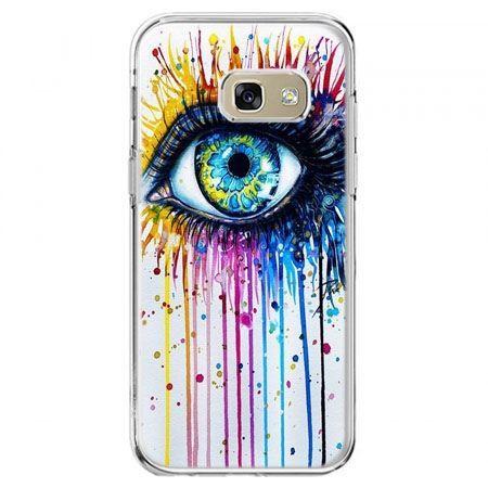 Etui na telefon Galaxy A5 2017 - kolorowe oko