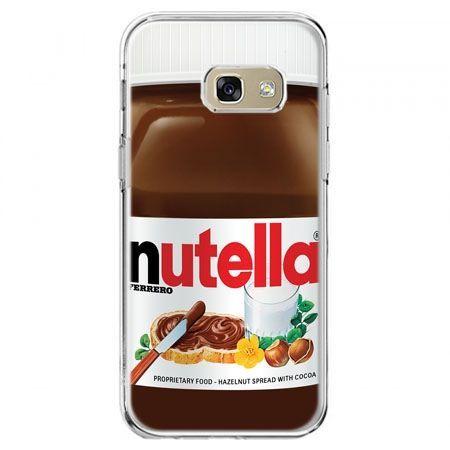 Etui na telefon Galaxy A5 2017 - Nutella czekolada słoik