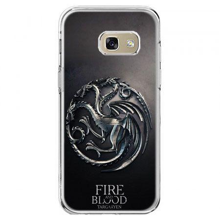 Etui na telefon Galaxy A5 2017 - Gra o Tron Targaryen house herb