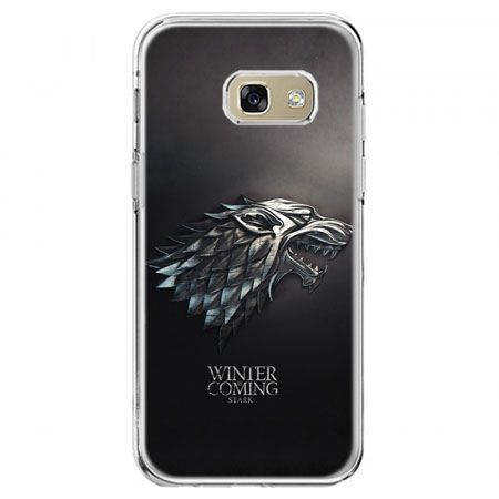 Etui na telefon Galaxy A5 2017 - Gra o Tron Stark Winter is coming
