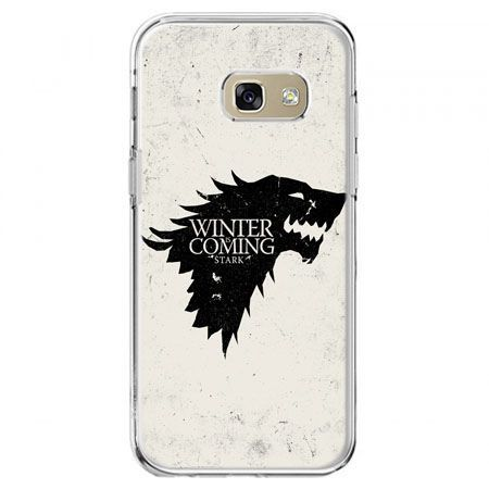 Etui na telefon Galaxy A5 2017 - Gra o Tron Winter is coming czarna