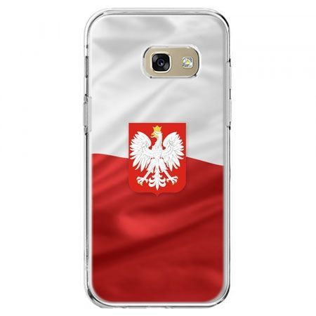 Etui na telefon Galaxy A5 2017 - flaga Polski z godłem