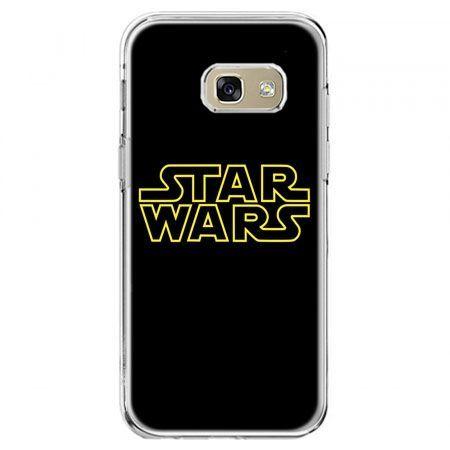 Etui na telefon Galaxy A5 2017 - Star Wars złoty napis