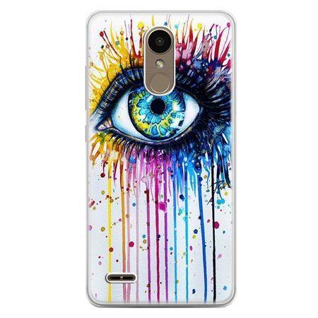 Etui na telefon LG K10 2017 - kolorowe oko