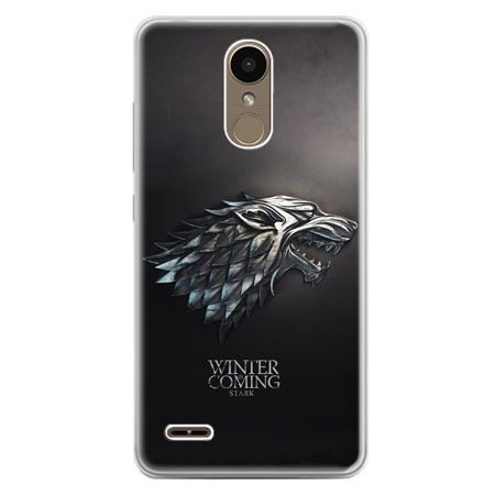 Etui na telefon LG K10 2017 - Gra o Tron Stark Winter is coming