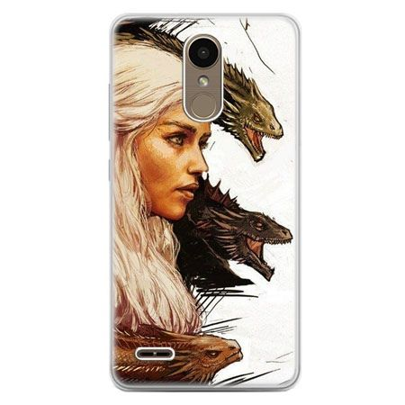 Etui na telefon LG K10 2017 - Gra o Tron Daenerys Targaryen