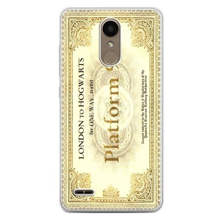 Etui na telefon LG K10 2017 - bilet platform 9 3/4 Harry Potter