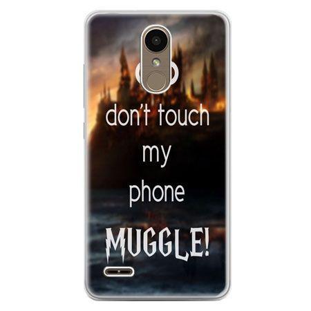 Etui na telefon LG K10 2017 - Don`t touch ..Muggle harry Potter