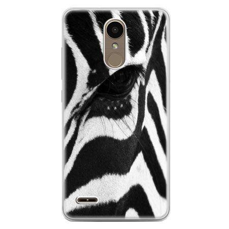 Etui na telefon LG K10 2017 - zebra