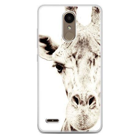 Etui na telefon LG K10 2017 - żyrafa