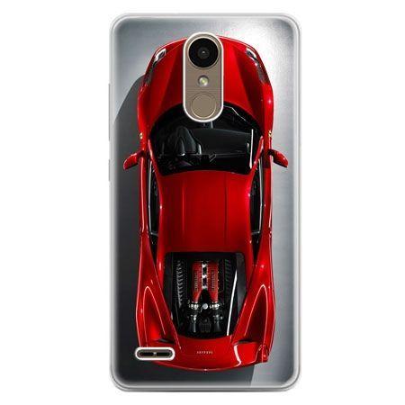 Etui na telefon LG K10 2017 - czerwone Ferrari