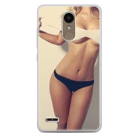 Etui na telefon LG K10 2017 - kobieta w bikini