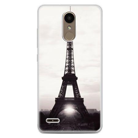 Etui na telefon LG K10 2017 - Wieża Eiffla