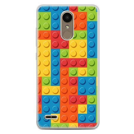 Etui na telefon LG K10 2017 - kolorowe klocki