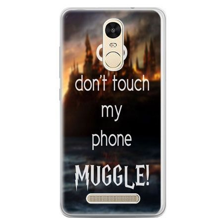 Etui na telefon Xiaomi Redmi Note 3 - Don`t touch ..Muggle harry Potter