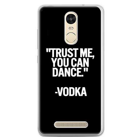 Etui na telefon Xiaomi Redmi Note 3 - Trust me you can dance-vodka