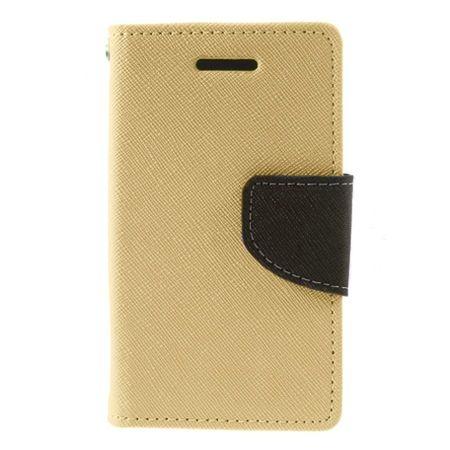 Etui na Galaxy A5 2017 Fancy Wallet - złoty.