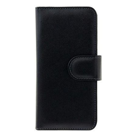 Etui na iPhone 6 / 6s portfel z klapką na karty kredytowe - czarny.