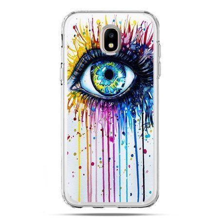 Etui na telefon Galaxy J5 2017 - kolorowe oko
