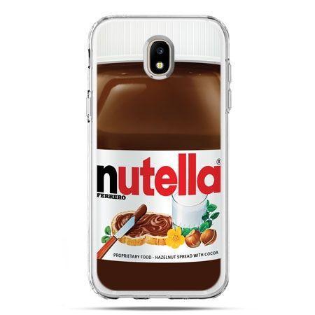 Etui na telefon Galaxy J5 2017 - Nutella czekolada słoik