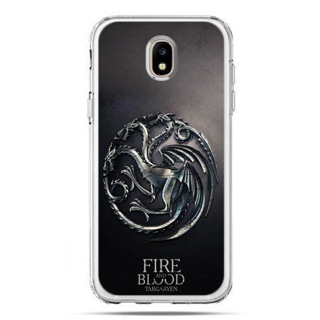 Etui na telefon Galaxy J5 2017 - Gra o Tron Targaryen house herb