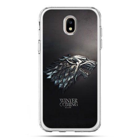 Etui na telefon Galaxy J5 2017 - Gra o Tron Stark Winter is coming