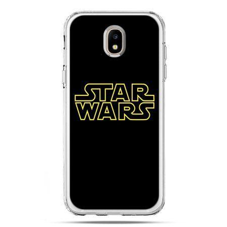 Etui na telefon Galaxy J5 2017 - Star Wars złoty napis