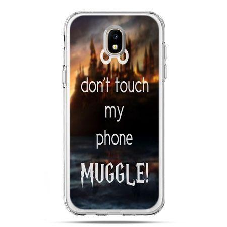 Etui na telefon Galaxy J5 2017 - Don`t touch ..Muggle harry Potter