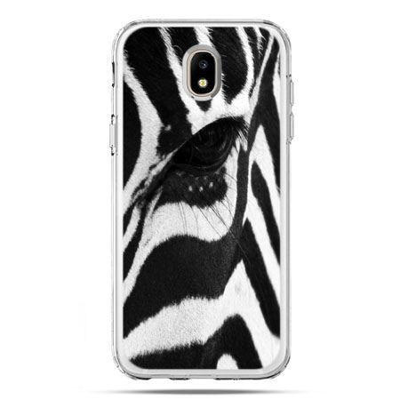Etui na telefon Galaxy J5 2017 - zebra