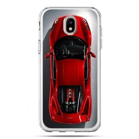Etui na telefon Galaxy J5 2017 - czerwone Ferrari
